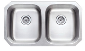 Undermount 50/50 Kitchen Sink